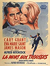 North By Northwest POSTER Movie (27 x 40 Inches - 69cm x 102cm) (1959) (French Style B)