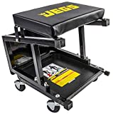JEGS 81156 Creeper Seat and Step Stool Seat