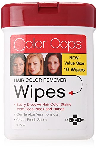 Color Oops Wipes, Red, 1 Count