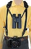 Trekking Safari Pro - Arnés para cámaras réflex, Negro