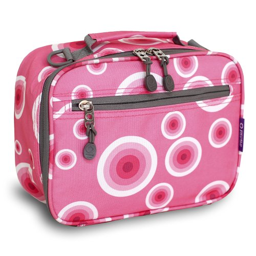 J World New York Cody Lunch Bag, Pink Target, One Size