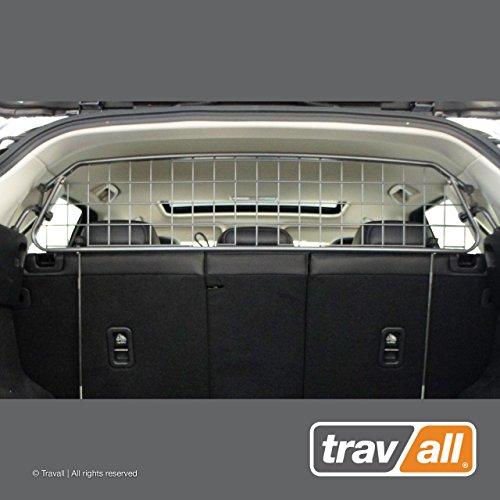 Travall Guard Hundegitter Kompatibel Mit Mazda CX-5 (Ab 2017) TDG1565 - Maßgeschneidertes Trenngitter in Original Qualität