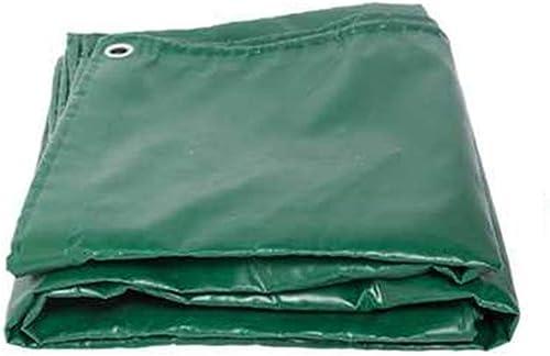 Bache De Prougeection Imperméable, Feuille résistante imperméable Transparente de bache de 3  3m Anti-Pluie avec Le Plastique d'oeil de Trou en métal Vert ZHANGQIANG (Couleur   A, Taille   3x5m)