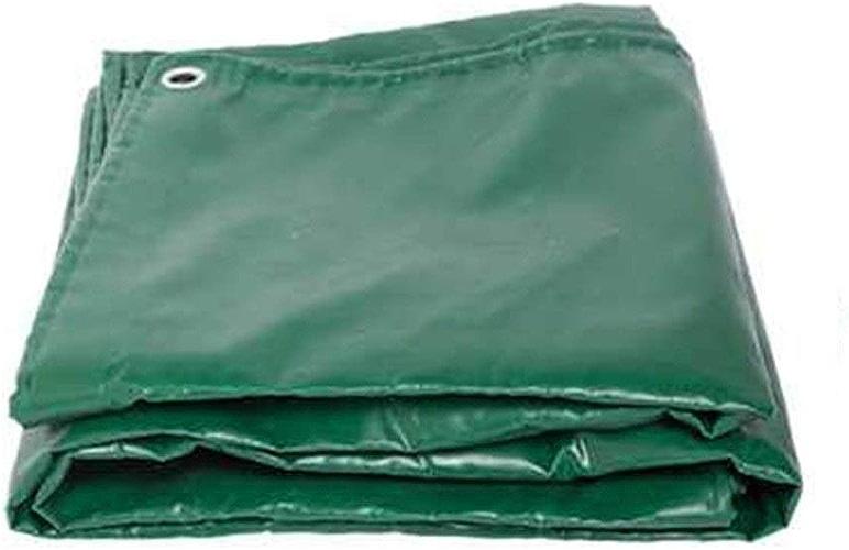 Bache De Prougeection Imperméable, Feuille résistante imperméable Transparente de bache de 3  3m Anti-Pluie avec Le Plastique d'oeil de Trou en métal Vert ZHANGQIANG (Couleur   A, Taille   3x6m)