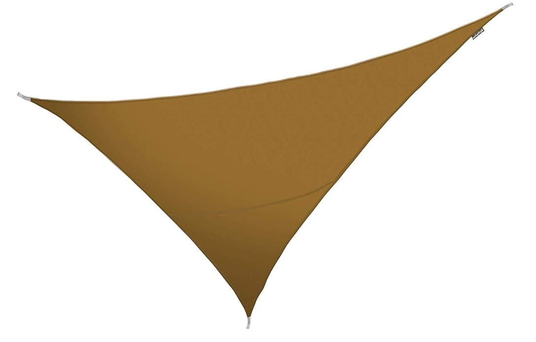 見込みいうシーフードクッカバラパーティシェードセイル モカブラウンカラー 紫外線96.5%カット 布帛 - 耐水性タイプ OL4015 (三角形: 6 x 4.2 x 4.2m)
