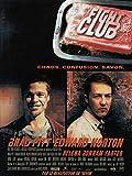 Fight Club Affiche Cinéma Originale Petit Format (53x40 cm Roulée) David Fincher Edward Norton Brad Pitt