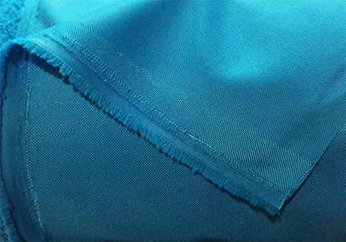 Tissu polyestére imperméable turquoise