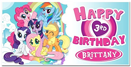 Personalized My Little Pony Banner Party