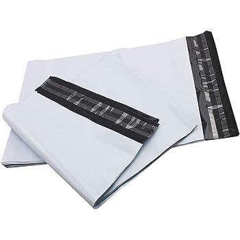 "1000pcs 7.5"" x 10.5"" White Poly Mailer Self Seal Envelopes Shipping Bags 2.5 Mil"