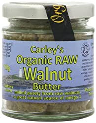 Good natural source of omega 3 Raw walnut butter is pure, simple and very delicious Also contain iron, selenium, calcium, zinc, vitamin E and some B vitamins Pure, simple and very delicious Good for coeliac or those who follow a gluten free diet