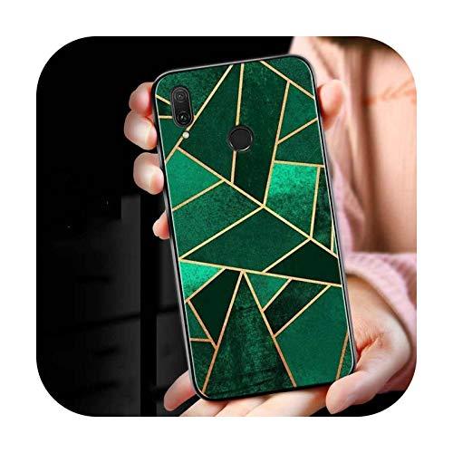 Funda de silicona de lujo textura de mármol para Huawei Mate 30 20 20X 10 Lite Y9 Y7 Y6 Y5 Pro Prime Lite 2019 2018 teléfono Case Style 06-for Mate 20X (5G)