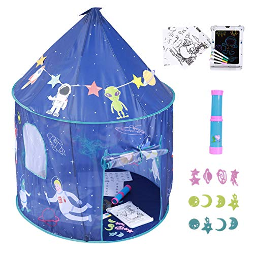 New Colorhome Playhouse for Kids Indoor Boys Tent, with Toys Girls Play House Toddler Tents Outdoor ...