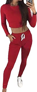 Energy Womens Lounge Strappy Two Piece Stripe Active Sweatsuit Set