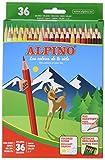 Colores surtidos Alpino AL000600 - Lápices, 36 unidades