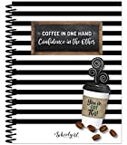 Schoolgirl Style Academic Teacher Planner - Undated Weekly/Monthly Plan Book, Industrial Cafe Lesson Planner and Organizer for Classroom or Homeschool (8.4' x 10.9)