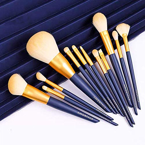 Makeup Brushes,12pcs Makeup Brush Set Premium Synthetic,Soft Hair Makeup Brush Eye Shadow Brush Set, Soft Touch, Natural Makeup, Portable High-Gloss Brush LATT LIV