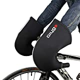 Lixada Cycling Gloves Winter Warm Gloves Wind Rainproof Handlebar Mittens MTB Handlebar Gloves Mitts for...