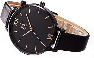women's petite portia blush leather strap watch 28mm