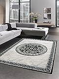 CARPETIA Designador Rug tapete vesagra Diseno Gris Negro Größe 120x160 cm