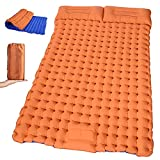Self Inflating Sleeping Pad for Camping - Extra Thickness & Compact Lightweight Camping Mattress Waterproof Camping Mat for Tent Hiking Car Traveling