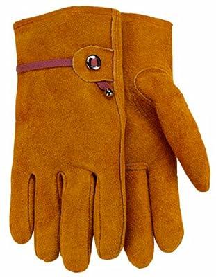 Men's Suede Cowhide Leather Work Glove