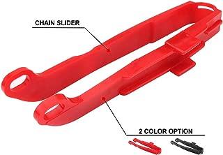 Motorcycle Chain Slider Swingarm Protector For Honda XR250R 1991-2004 XR400R 1996-2004 XR600R 1991-2000 XR650L 1993-2019 - Red