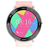 Topuality Smart Watch Heart Rate Blood Pressure Monitor 100M Waterproof Running Sports Activity Smart Watch Pedometer Stopwatch for Men Women