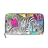 Zebras - Carteras con diseño de carteras para mujer