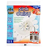 Compac's Sink Daisy, Scented Kitchen Sink Strainer - Infuses and Freshens Your Sink with Crisp, Clean, Exciting Scents, While Protecting Garbage Disposals & Drains, Strawberry, 12 Count