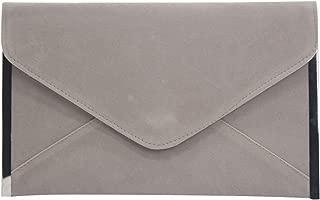 Wiwsi Women Fold Envelope Wristlet Purse Clutch Bag Evening Handbag Shoulder Bag