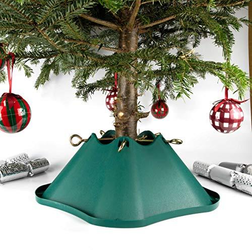 Bosmere 20,32 cm con Soporte para árbol de Navidad de plástico 13,97 cm Trunk - Verde