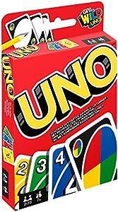 Bei dieser Neuauflage des klassischen UNO-Spiels sorgen individuelle Karten für den ganz besonderen Dreh Die Spieler legen abwechselnd passende Handkarten auf dem Kartenstapel ab und versuchen, möglichst als Erster alle Karten loszuwerden Spezielle A...