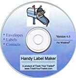 Handy Label Maker Software Prints Mailing Address on Labels, Envelopes. Mail Invitations, Flyers, Christmas Cards. Contacts File, Address Book, Birthday Reminders. Windows PC or Laptop.