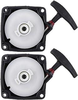 non-brand 2 Piezas Arrancador de Arranque para Segadoras Desbrozadoras Strimmer 33cc, 36cc, 43cc, 49cc