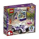 LEGO Friends - Clínica Veterinaria Móvil de Emma, juguete imaginativo de construcción para aventuras de mascotas (41360)