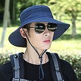 wtnhz Sombrero para el Sol Sombrero para el Sol Transpirable al Aire Libre Sombrero de Ciclismo Masculino Sombrero de Pescador Sombrero para el Sol de Pesca de montañismo