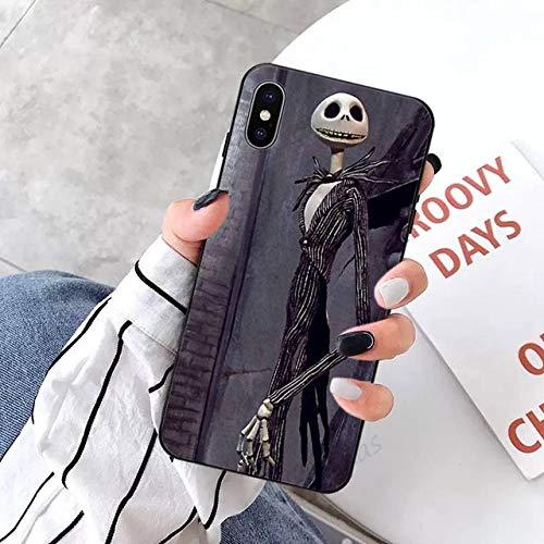 Caja del teléfono de Pesadilla navideña para iPhone 5 5s 5c se 6 6s 7 8 Plus x XS XR 11 Pro MAX, A8, para iPhone 6 6s