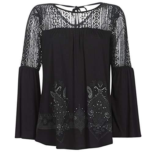Desigual t- shirt ivana, noir (negro 2000),...