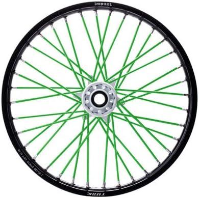 Spoke Sleeves Sales results No. 1 Green for New life KX100 2011-2019 Kawasaki