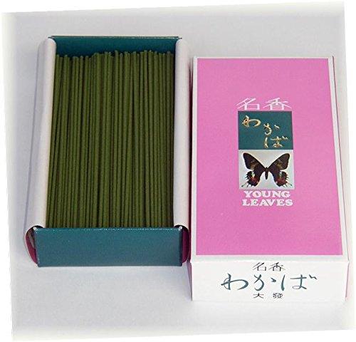 ハセガワ仏壇 線香 [わかば] 120g 家庭用線香 (大箱 バラ詰) ほのかに香る Y-1