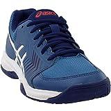 ASICS Men's Gel-Dedicate 5 Tennis Shoe (11.5 D(M) US, Azure/White)