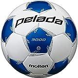 モルテン(molten) サッカーボール 5号球 中学生以上 検定球 ペレーダ3000 F5L3000-WB ホワイト×メタリックブルー F5L3000-WB