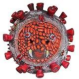 DASLING Halloween Viral Latex Mask Headgear Virus Modeling Horror Mask-Virus Mask