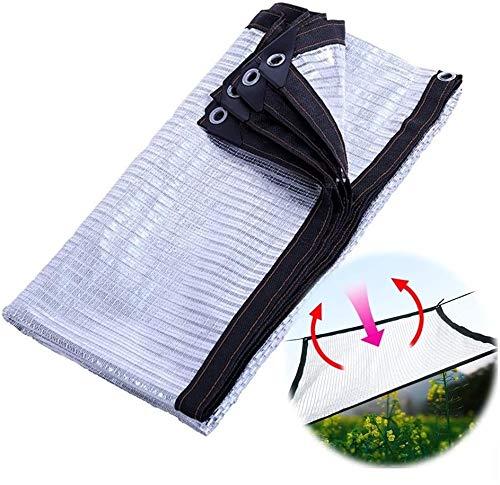 ANHPI Filet d'ombrage Couvre-sol Feuille d'aluminium Isolation thermique Tarp Shelter Bâche Polyéthylène Crème solaire Refroidir Balcon sur le toit extérieur (Size : 4 * 6m)