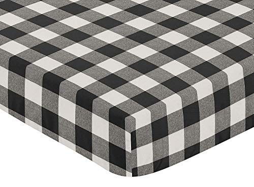 Black and White Checkered Sheets