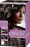 Schwarzkopf Color Expert Intensiv-Pflege Color-Creme, 4.3 Sanftes Dunkelbraun Stufe 3, 3er Pack (3 x 167 ml)