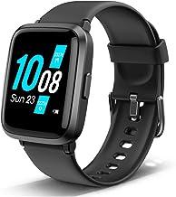 Lintelek Salud & Deporte Smart Watch, Reloj Inteligente Hombre Mujer Niño, Pulsera Actividad de Oxígeno Sanguíneo, Presión Arterial, Frecuencia Cardíaca, Sueño, Calorías y Pasos, Relojes Deportivos