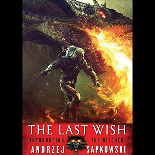 The Last Wish audiobook cover art