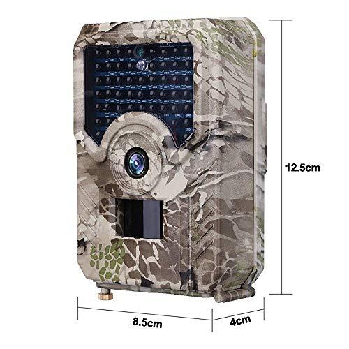 JFZCBXD Cámara Trail Caza de la cámara de 12MP 1080P Impermeable Rastro de la Fauna Noche al Aire Libre de la visión de Fotos Trampas Cámaras de vídeo