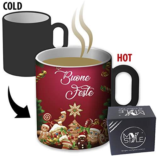 My Custom Style Tazza Magica termosensibile#Natale-Auguri#325ml